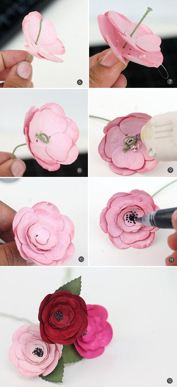 Paper Flower Bouquet for Mom   Damask Love Blog