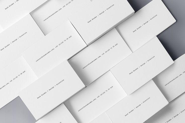 "Check out this @Behance project: ""René Bieder / Identity + Digital"" https://www.behance.net/gallery/33055389/Ren-Bieder-Identity-Digital"