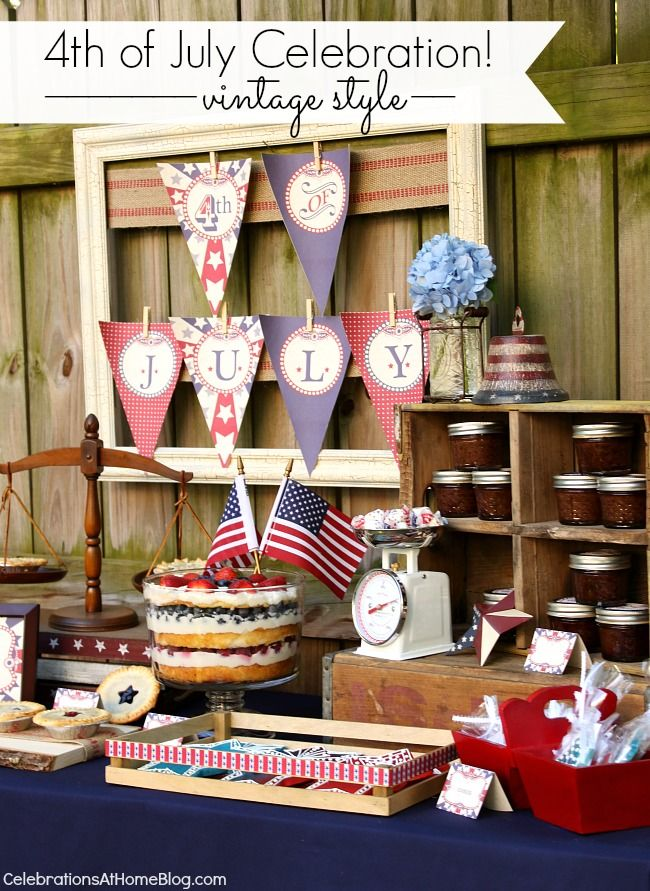 17 best images about party decorating ideas on pinterest for 4th of july party decoration