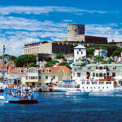 Marstrand, summer Sweden