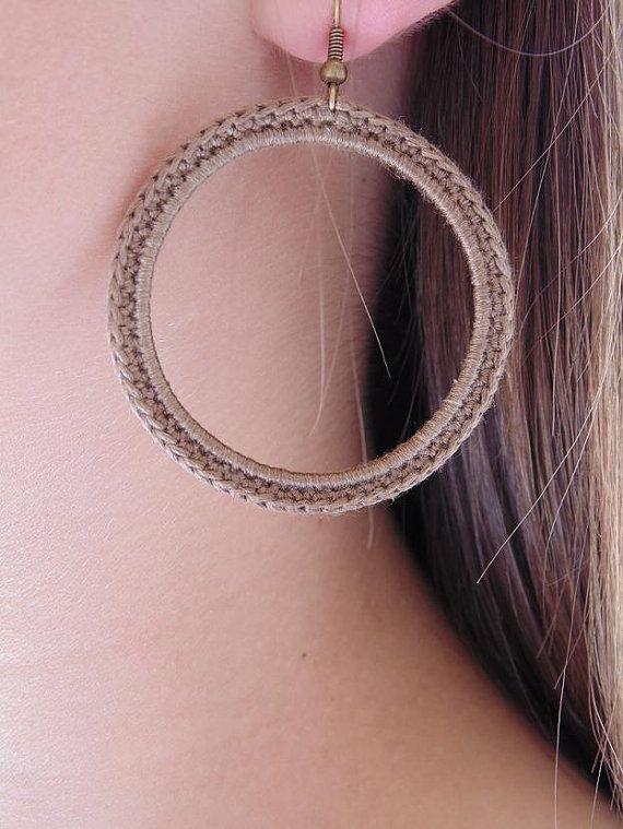 ditania rev crochet earrings                                                                                                                                                                                 Mais