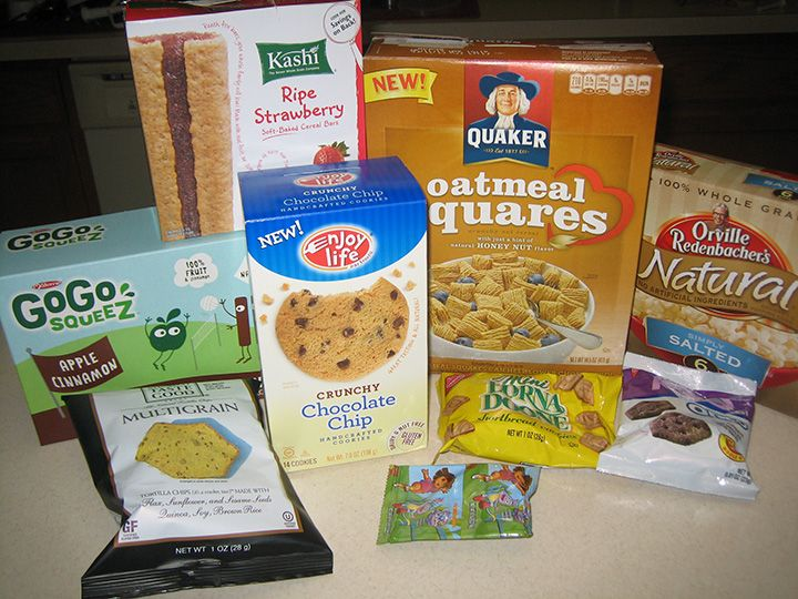 Nut-Free, Dairy-Free, Egg-Free School Snacks