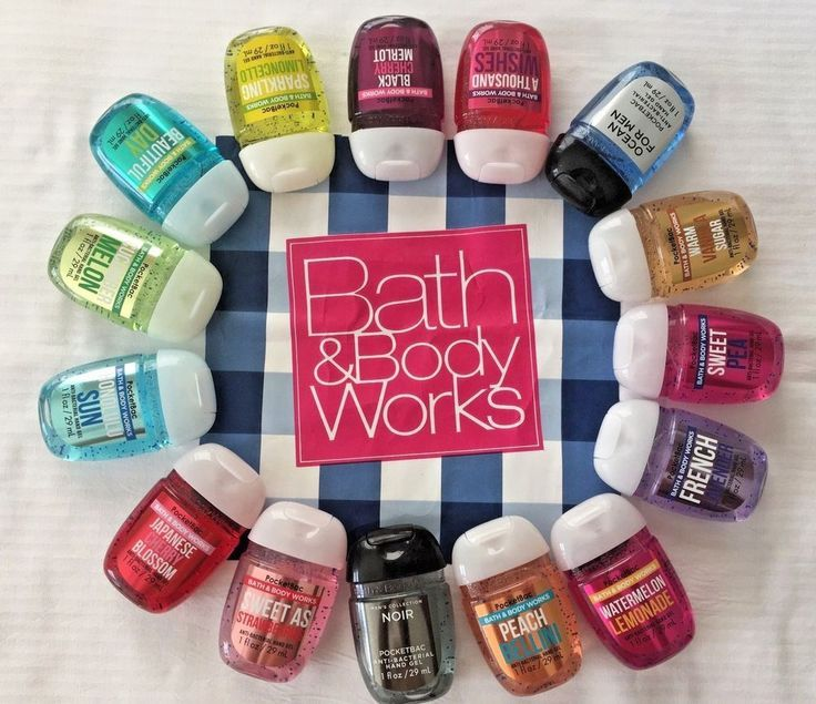 Bath And Body Works The Classic Collection Pocketbac Hand