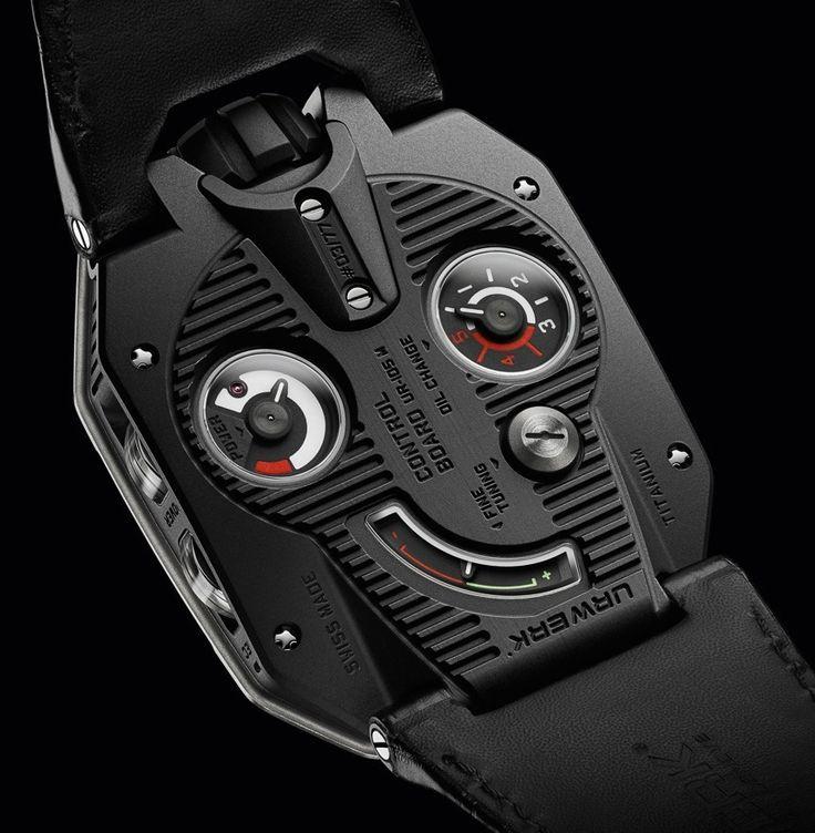 Die Knight Uhr in Schwarz