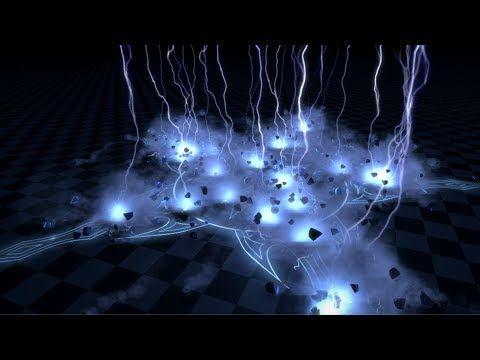 Массовый скилл удара молний (Демо)   Unity3d - YouTube