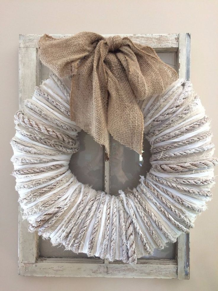 This Might Be The Best Farmhouse Wreath We've Ever Seen