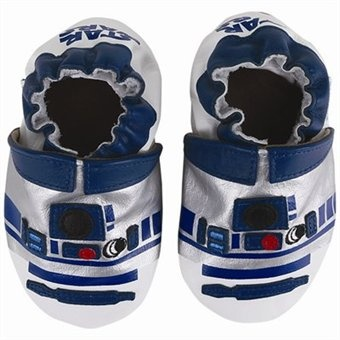 Super cute! Star wars baby shoes.
