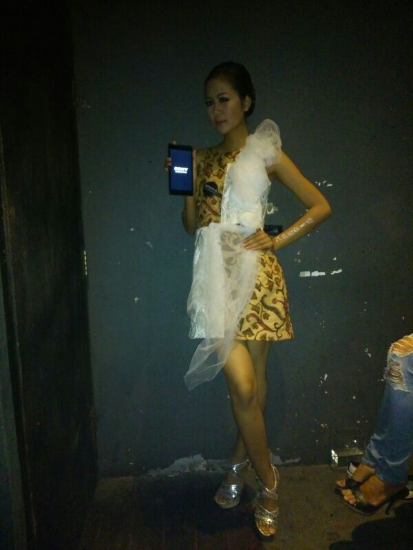 Xperia Z Ultra Fashion Show