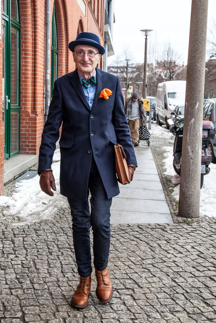 What a cool Guy! #berlin #fashion #men Günther Krabbenhöft