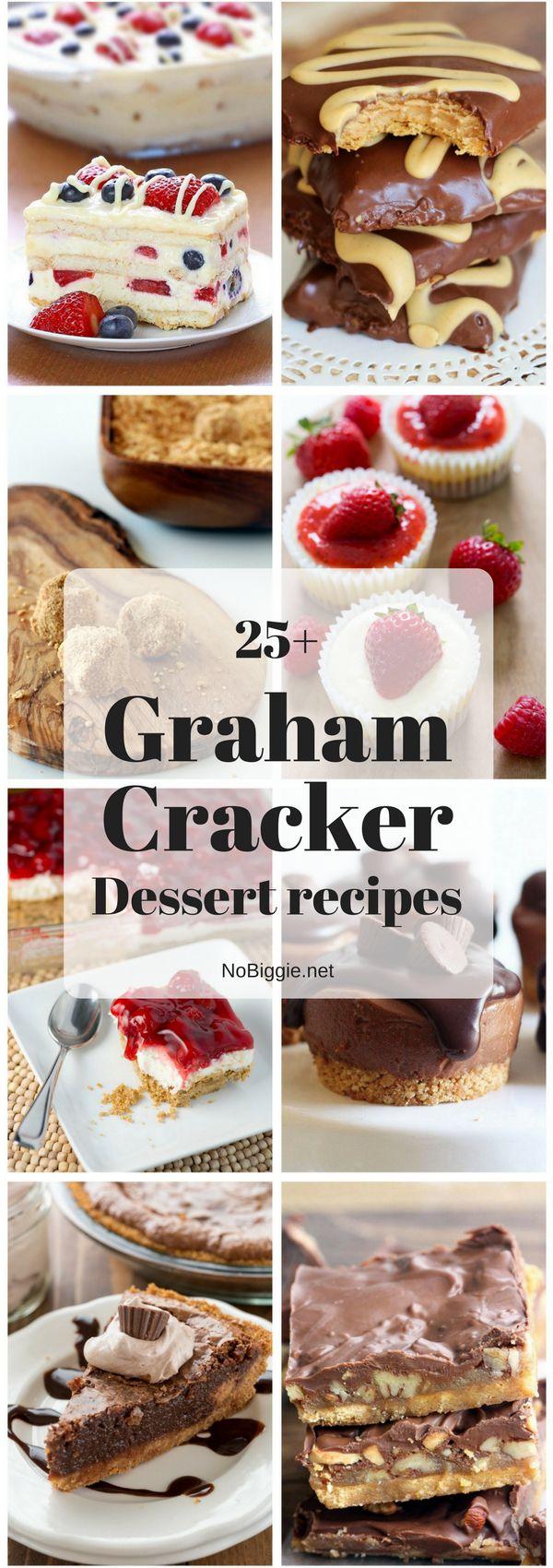 25+ Graham Cracker Dessert recipes | NoBiggie.net