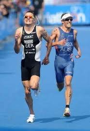 Beijing Olympics Triathlon finish,