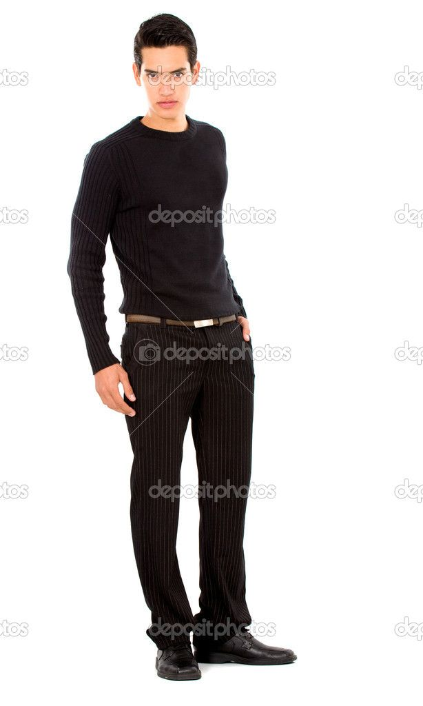 Male Fashion Pose Full Body