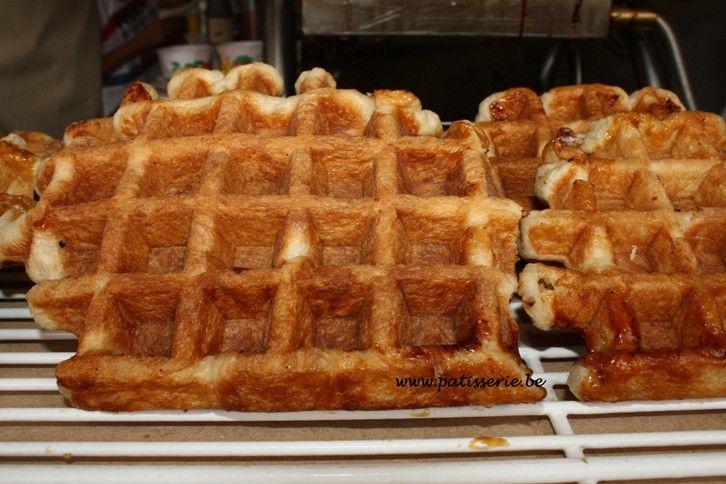 Suikerwafels (Luikse Wafels) « Patisserie.be – Recepten voor patisserie, confiserie, ijs, brood en nagerechten
