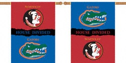 Florida Gators vs. Florida State Seminoles 28x40 Double Sided House Divided Rivalry Banner $34.99 http://www.fansedge.com/Florida-Gators-vs-Florida-State-Seminoles-28x40-Double-Sided-House-Divided-Rivalry-Banner-_618694545_PD.html?social=pinterest_pfid44-14766