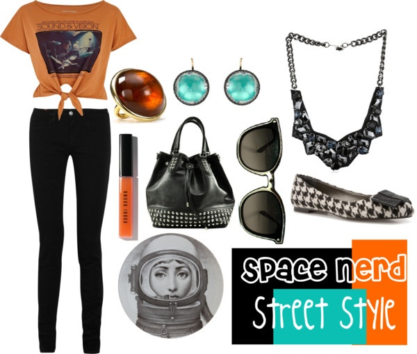 Space Nerd Chic, created by mirandablair85 on Polyvore