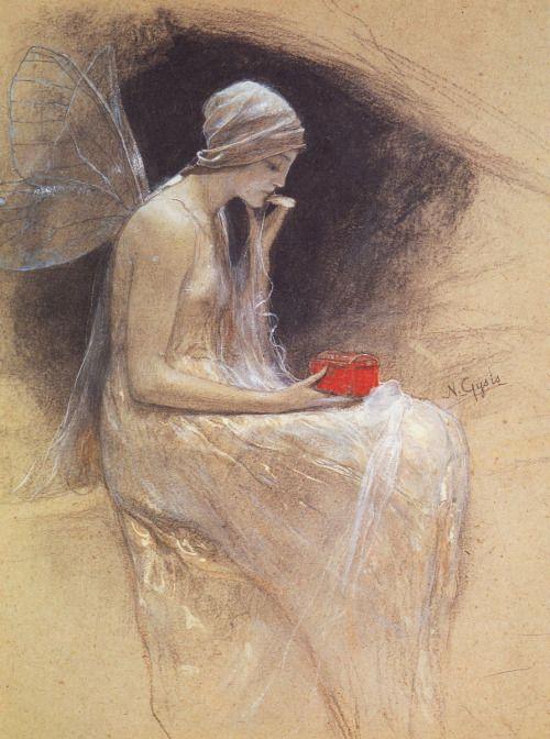 """""""Psyche"""", Nikolaos Gyzis, 1890's"""