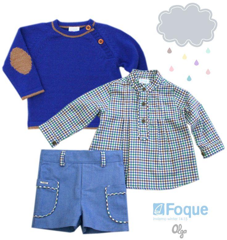 Moda infantil niños, colección Foque otoño-invierno 2014-2015.