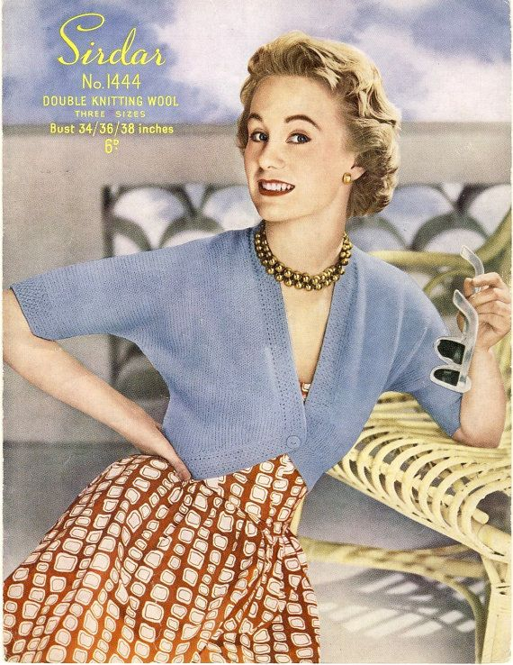 25 Best Styles Of The 1950s Vintage Sewing Knitting Crochet