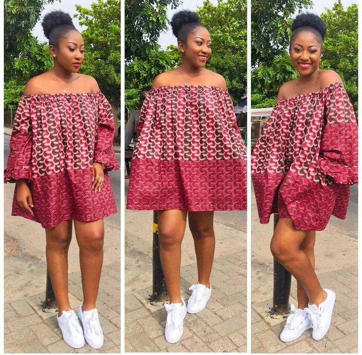 ankara styles that can be worn with