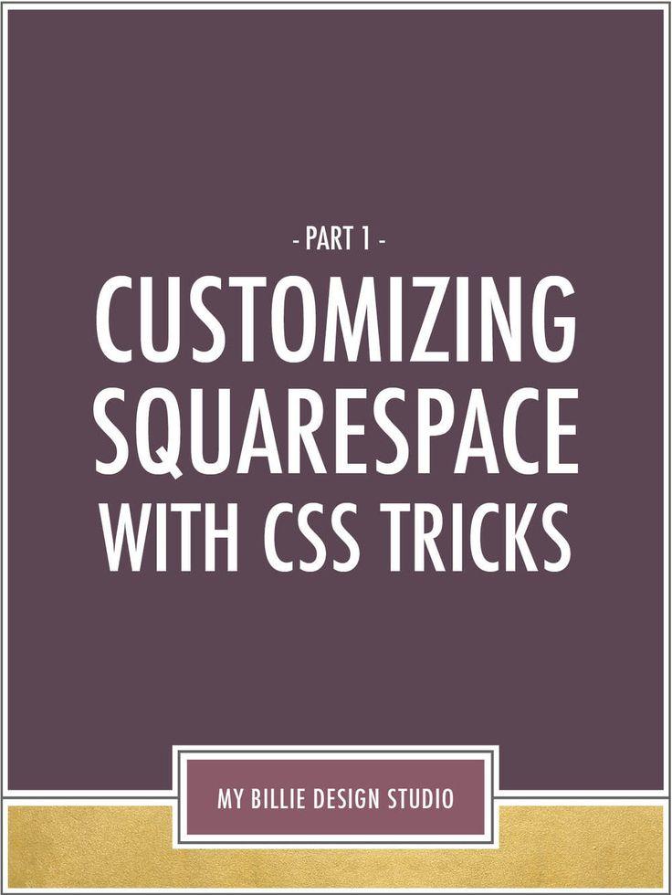 Squarespace tutorial business plan