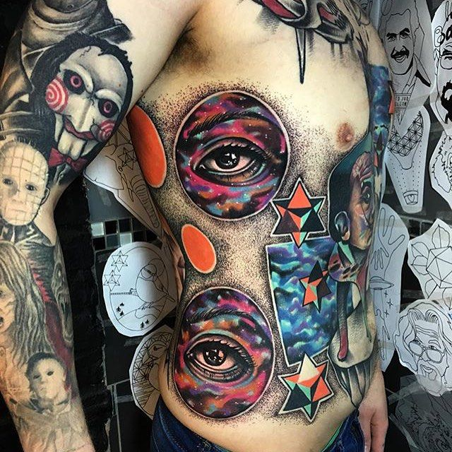 1000 images about tattoos on pinterest colorful bird tattoos triangle tattoos and geometric. Black Bedroom Furniture Sets. Home Design Ideas
