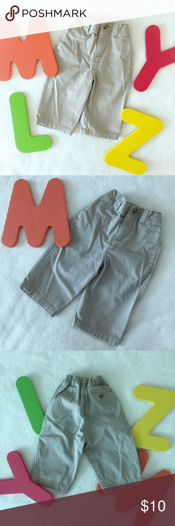 Nordstrom Kaki Pants Nordstrom kaki pants. Gently worn in good condition. 100% cotton. 9 months. From a smoke pet free home. Bundle & Save! Take a look at my closet! Nordstrom Bottoms Casual