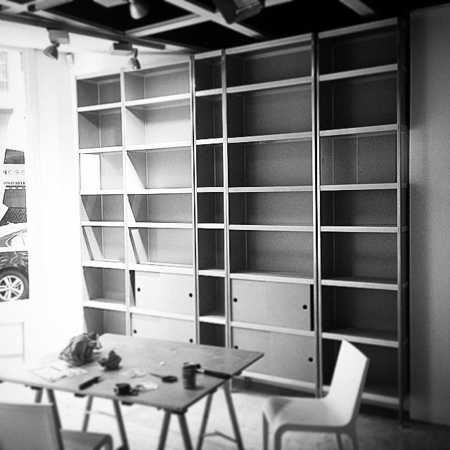 Instagram media kastenwinkel_den_haag - Working on our new showroom # ...