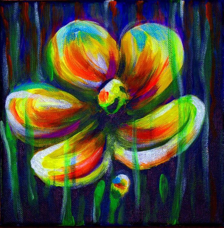 Five petals - (20cm x 20cm)