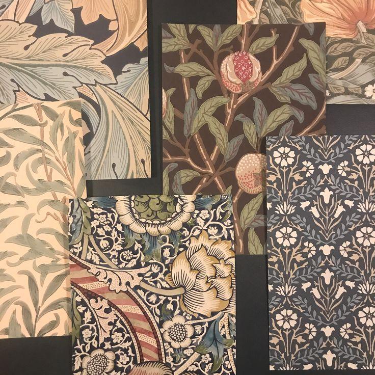 Tapetprover från William Morris