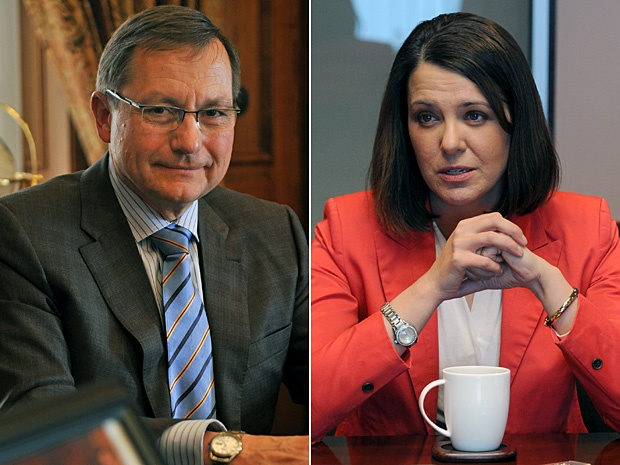 Danielle Smith's position on climate change — not allegations of bigotry in the Wildrose party — killed her chance to end the Progressive Conservative dynasty, says former Tory premier Ed Stelmach.