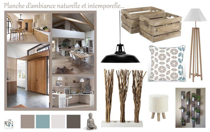 Planche tendance naturelle et intemporelle - VB HOME