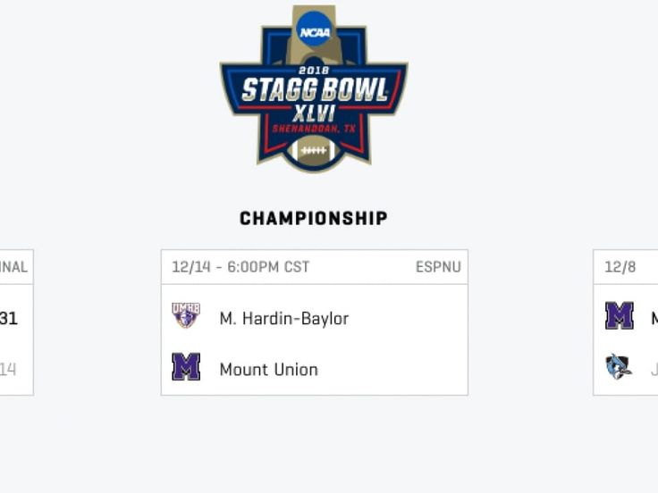 Mary hardinbaylor beats mount union in stagg bowl