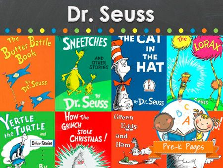 Activities and ideas for learning about the works of Dr. Seuss in your preschool, pre-k, or kindergarten classroom.