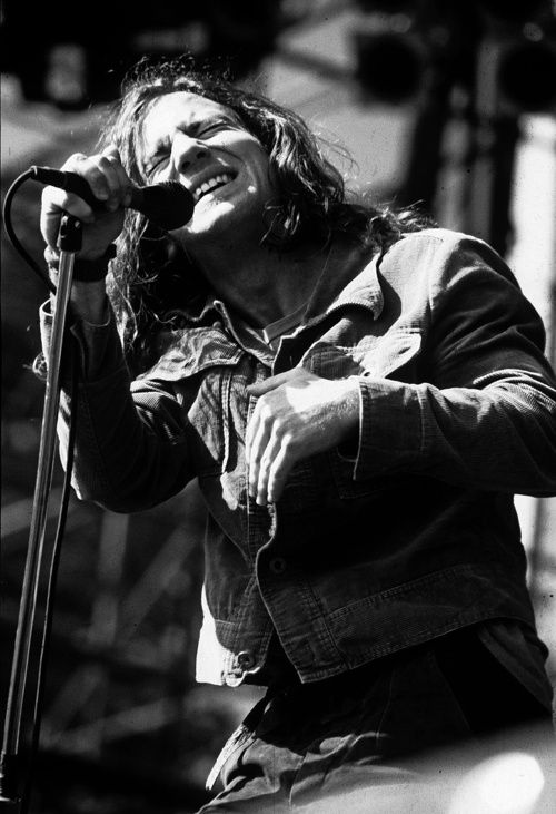 morrisphoto:    Eddie Vedder, Pearl Jam - Toronto, ON 1991