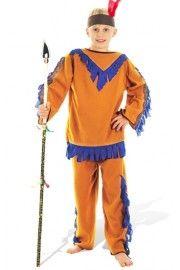 Kızılderili Kostümü Erkek Çocuk, Erkek Çocuk Kostümleri, Ülke Kostümleri,Erkek Çocuk Ülke Kostümleri,