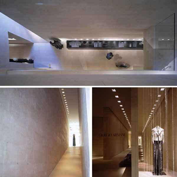 42 best arq claudio silvestrin eng architecture images for Giorgio armani architetto