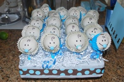 Baby Boy Cake Pops. Perfect For A Baby Shower. | BABY SHOWER PARTY |  Pinterest | Torte Ragazzo, Mamma E Torte Per Il Maschietto