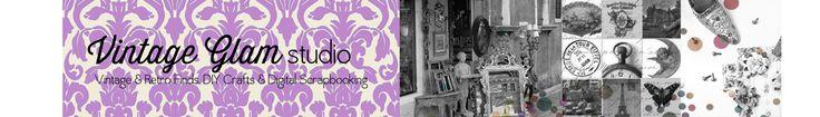 Free Printable Download - 12 Days of Christmas Gift Tags - Vintage Glam Studio
