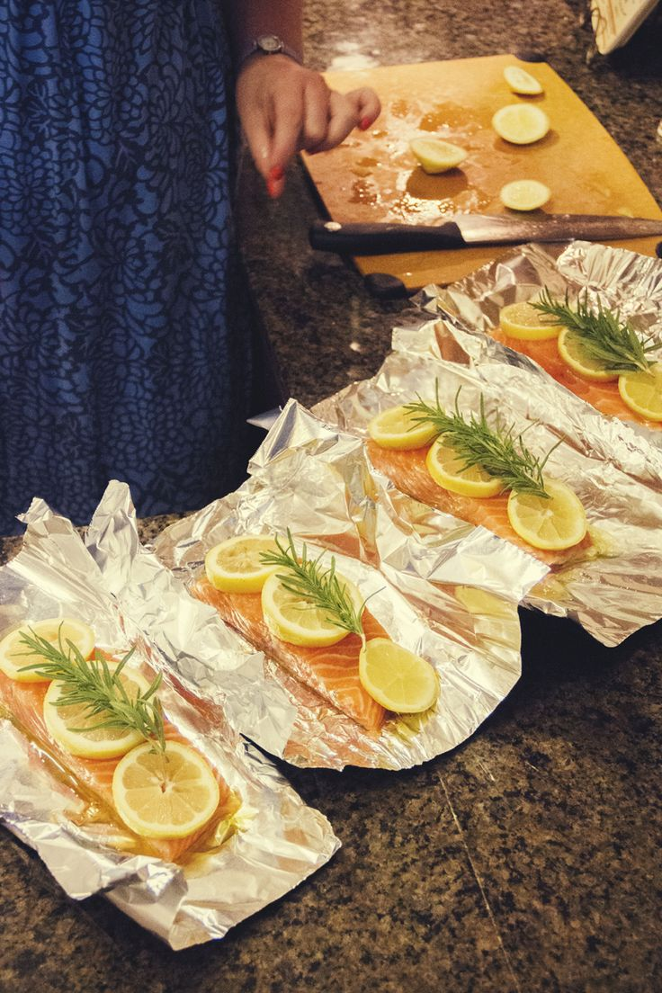 How to Grill Salmon in Foil Packets   The Rose Table