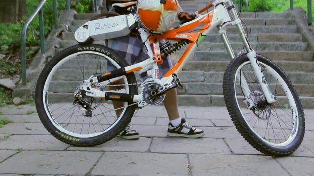 Rubbee: de bicicleta convencional a eléctrica
