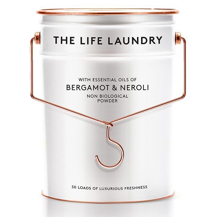 The Life Laundry Luxury Washing Detergent Packaging Design