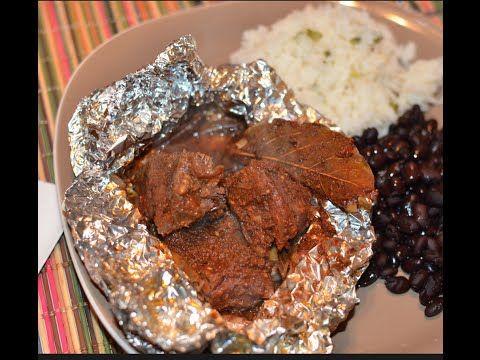 Autenticos Mixiotes estilo Puebla receta facil - YouTube