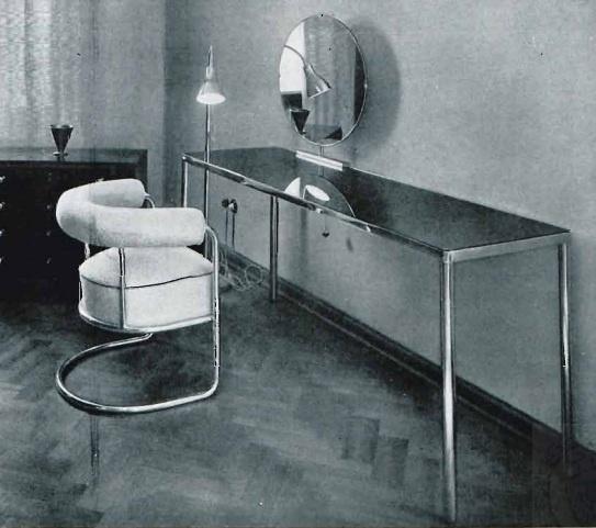 1933, steel furniture