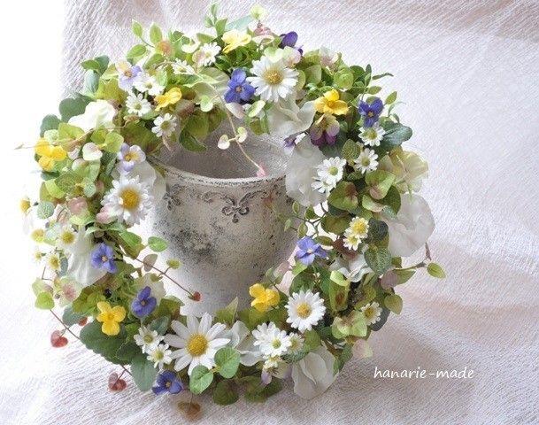 【order komomoさま】野辺すみれ:wreath - はなりえmade