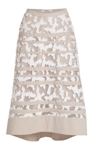 Floraflag skirt by DOROTHEE SCHUMACHER for Preorder on Moda Operandi