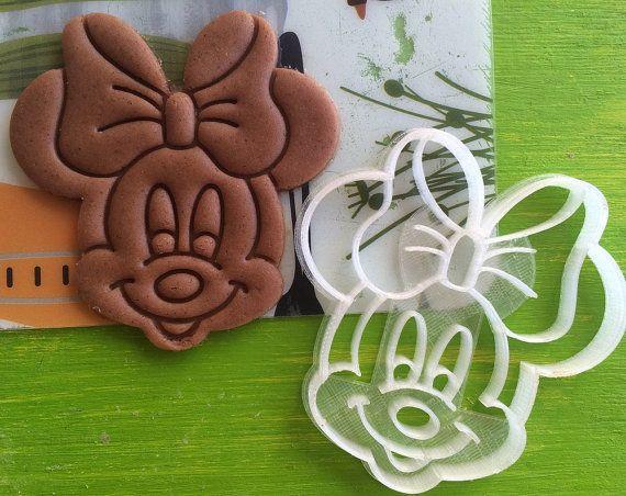 cc0206 cortador de galletas minnie mouse mini ratón por 3dventureru