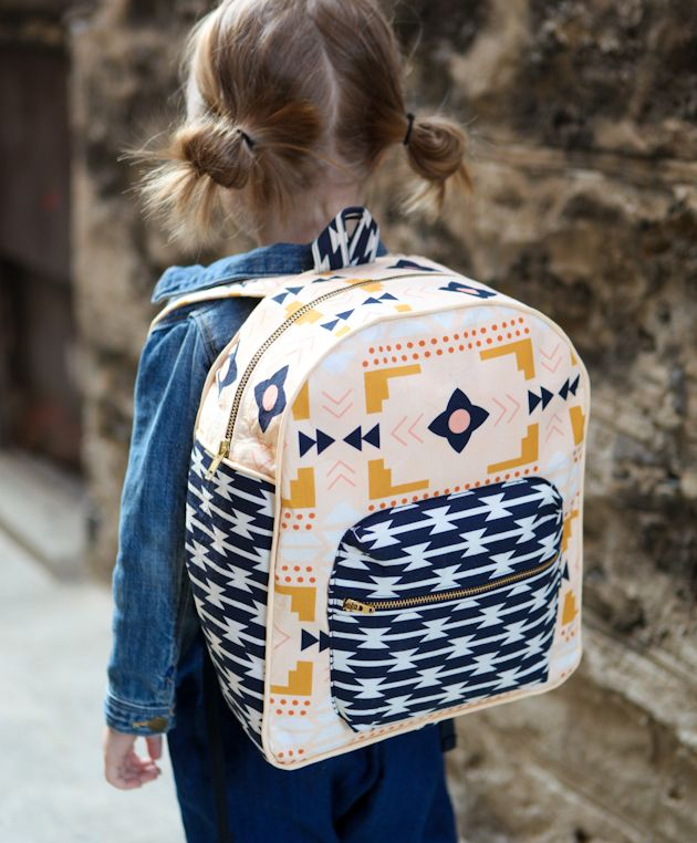 TODDLER BACKPACK + ARIZONA FABRIC GIVEAWAY: