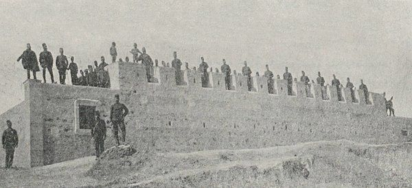 Ottoman Corps and Their Forts in the Zoro and Keramu Villages of Miris (Mires), Crete Island, 1896