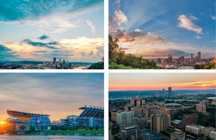 7 Best Places to Catch and Amazing Pittsburgh Sunset #Pittsburgh #Photography #Sunset