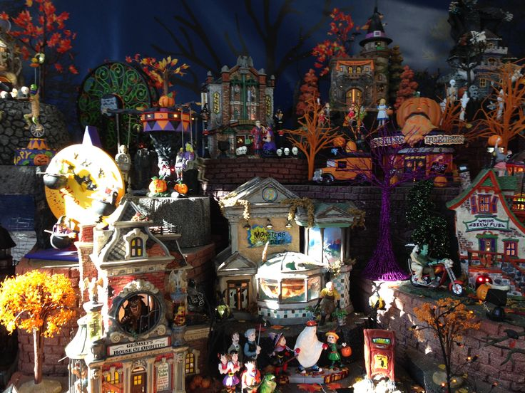 Department 56 Halloween VIllage | Hallowsville 2013 ...